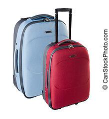 bag. travel bag. travel bag on a background.