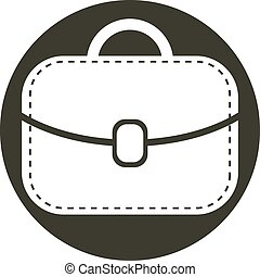 Bag vector icon.