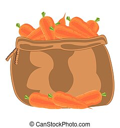 Bag with carrot