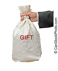 Bag with gift