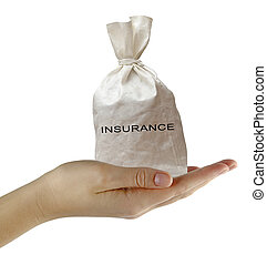 Bag with insurance