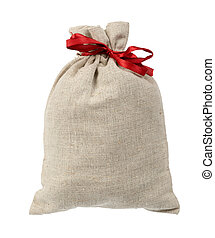 Bag with red band