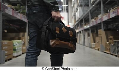 bag with the tool in the foreground. wholesale, logistic,...