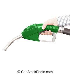 bagage, alla, olja, gas, släkt