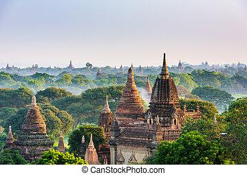 Bagan Myanmar Ancient Pagodas