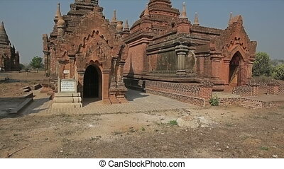 Bagan - pagoda - Ancient temples and stupas in Bagan....
