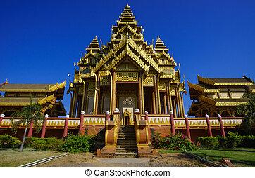 bagan, palazzo, bagan, mandalay, myanmar