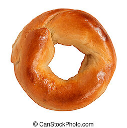 Bagel Isolated - Bagel isolated on a white background made...