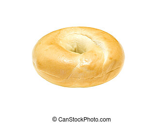 Bagel isolated on white background