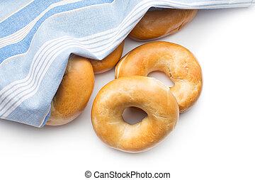 bagels, savoureux