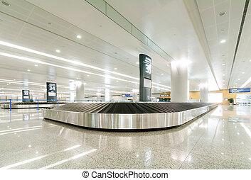Baggage claim area
