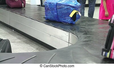 Baggage Claim in the Arrival Hall - Baggage claim area. As...