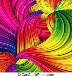 baggrund, abstrakt, farverig