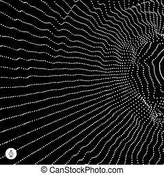 baggrund., abstrakt, netværk