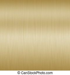 baggrund., børst, bronce