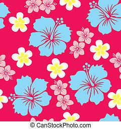 baggrund, hibiscus