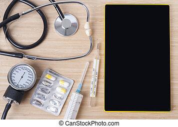 baggrund, medicinsk, tema