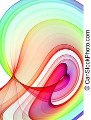baggrund, multicolored