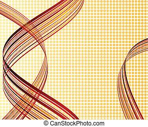 baggrund., stribet, abstrakt