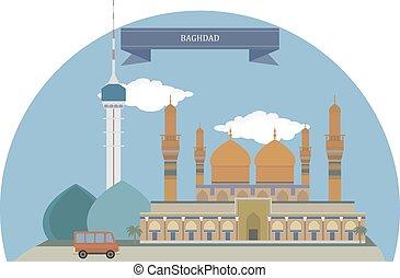 Baghdad, capital of the Republic of Iraq
