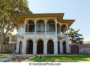 Baghdad Kiosk in the Topkapi palace, Istanbul, Turkey