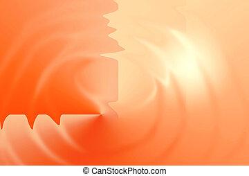 bagliore arancia