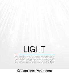 bagliore, concept., lente, vettore, fondo, luce