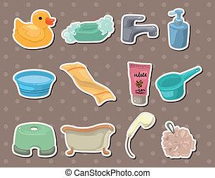 bagno, adesivi