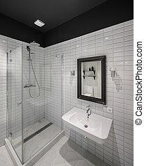 bagno, in, moderno, stile