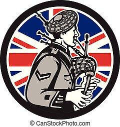 bagpiper-scotsman-side SHIELD GR UK-FLAG-ICON