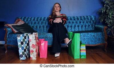 bags., achats femme, jeune