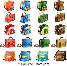 bags, adskillige
