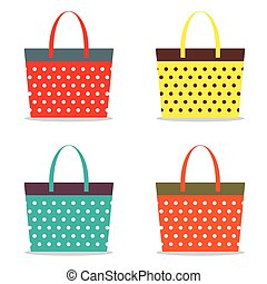 bags., colorito, donne