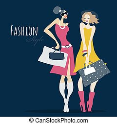 bags., moda, shopping, girls., donne