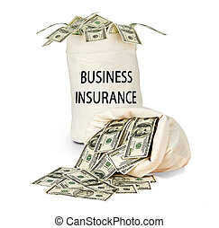 Bags with business insurance