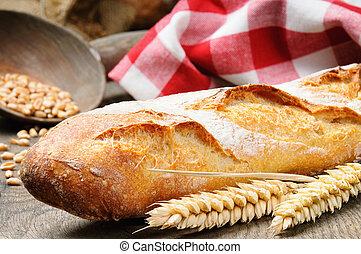 baguette, francuski