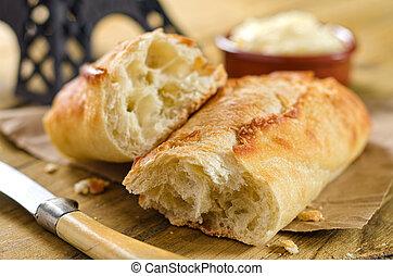 baguette, pan francés