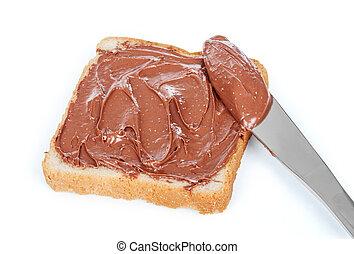 baguette slice spread