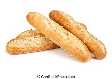 baguette, vario, francés