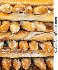 baguettes, francés