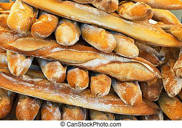 baguettes, francês