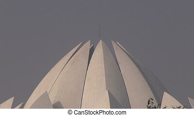 Bahai religion House of Worship, Lotus temple, New Delhi,...