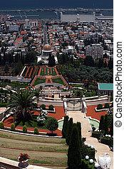 Bahai temple & gardens