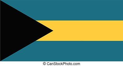 bahamas , εθνική σημαία