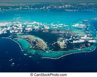 bahamas, aerial udsigt