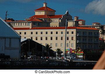 bahamas, edificios