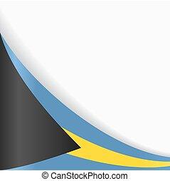 Bahamas flag background. Vector illustration. - Bahamas flag...