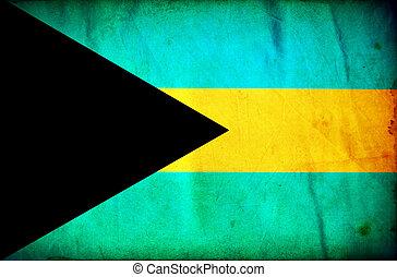 bahamas, grunge, achtergrond