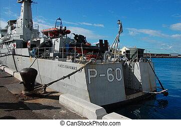 bahamas, haditengerészet, -, p-60