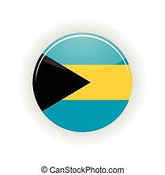 Bahamas icon circle